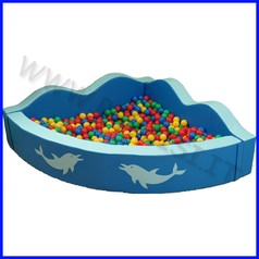 Piscina delfino 180x40/50 sp. 15 cm