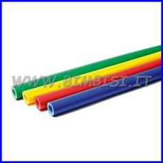 Guaina protettiva diam.43xsp.15 mt 2.35 blu, giallo, rosso o verde