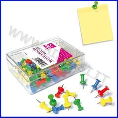 Puntine colorate per bacheca scatola 100
