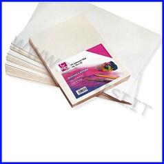 Cartoncino telato gr 160 cm 50x70 busta 10 fg - bianco/avorio