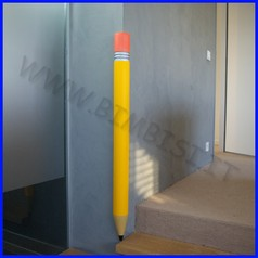 Paraspigolo in tpe h100cm matita