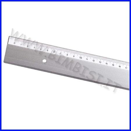 Riga alluminio cm. 100