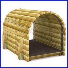 Tunnel in legno 1500
