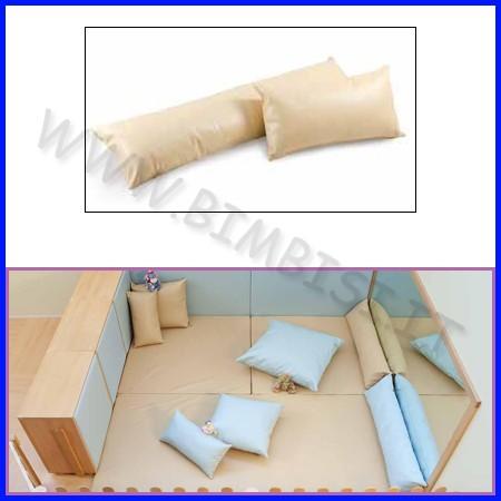 Cuscino rettangolare grande 130x30x15
