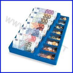 Portamonete/banconote euro cm.25x35
