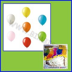 Palloncini tondi cf 25 bianco