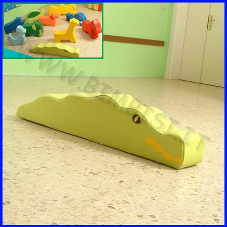 Morbidone coccodrillo 143x29x20 cm