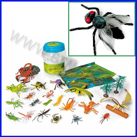 Animali insetti conf. 24 pz 3/13 cm. fino ad esaurimento