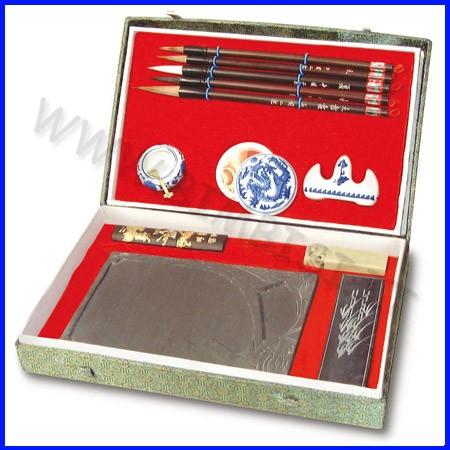 Pittura cinese set in cofanetto grande