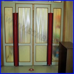 Salvadita pvc rosso 35x200cm porte 180