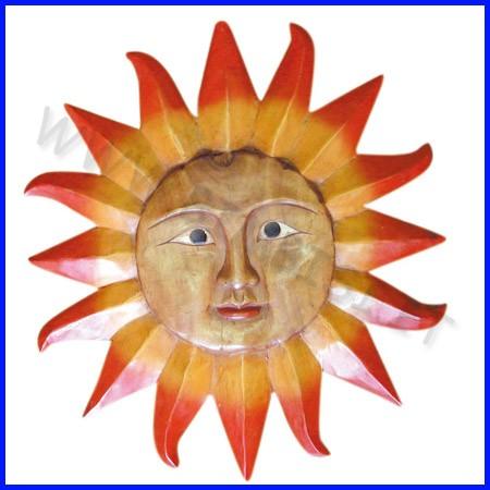 Stampo a rilievo sole grande cm 47x51