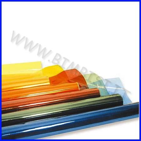 Cellophane colorato cm.70x500 - conf. 7 rotoli - ass