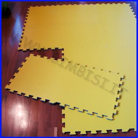 Tappeto ad incastro in pvc coprifloor dim.cm 92x46 sp.1,15 cm