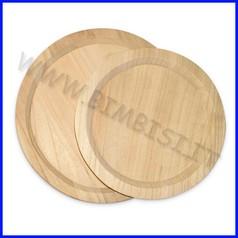 Supporti in legno: vassoio diam. cm.24