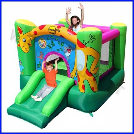 Castello gonfiabile happyhop giraffa dim.cm 280x210x160