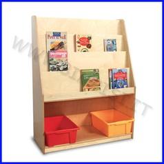 Libreria in legno cm.105x41,5x94h fino ad esaurimento