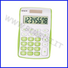Calcolatrice tascabile - verde