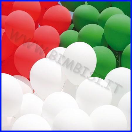 Palloncini gonfiabili diam 24 busta 100p monocolore rosso