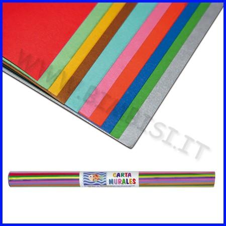 Carta murales 70x100 colori ass. cf 10fg