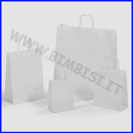 Sacchetto bianco cm.26x12x36 - pz. 25