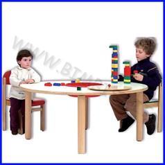 Tavolo manipolazione diam.130x56h