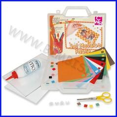 Mosaico facile kit in valigetta
