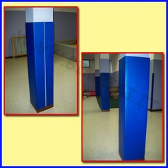 Protezione murale eva sp.20mm su misura adatta x pareti, pilastri e spigoli