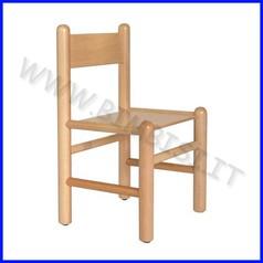 Sedia in legno materna dim.34x32x31/61h