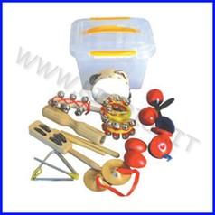 Strumenti musicali set percussioni kit per la classe