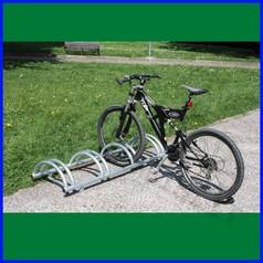 Portabici bike cm 150 4 posti zincato a caldo