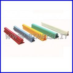 Profilo tondangolo pvc cm 2x2 sp.2mm azzurro