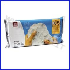 Pasta per modellare plus panetto gr.500 bianco