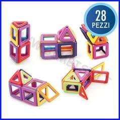 Geo-magnetica - scatola 28 pezzi