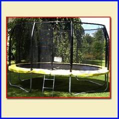 Trampolino ovale 460x300 cm