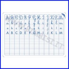 Lavagna abecedario cm.24x34 per lo studente