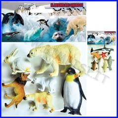 Animali del ghiaccio - busta 6 pz.