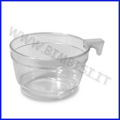 Tazza cappuccino conf. 25 pz trasparente