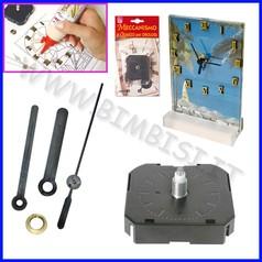 Creare orologi meccanismo con lancette asse 9 mm