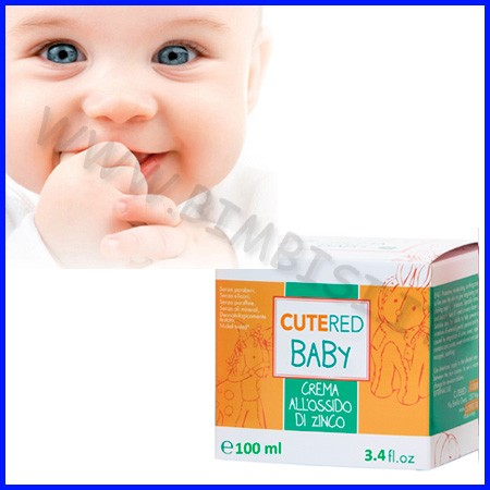 Cutered baby crema ossido zinco 100ml