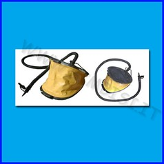 Gonfiatore a pedale nettuno 5lt doppia funzione:gonfia/sgonfia
