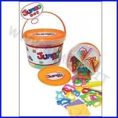Kiddy clay - 55 accessori per plastilina - secchio fino ad esaurimento