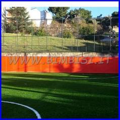 Protezione x esterni lastra cm 200x150x2 arancione antigraffio