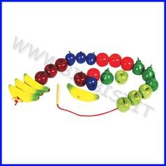 Frutta da infilare in legno fino ad esaurimento