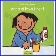 Libro anna si lava i denti