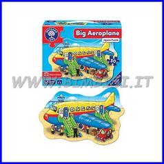 Puzzle gigante Aeroplano cm 61x41