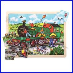 Puzzle gigante cm.43x33 - il treno