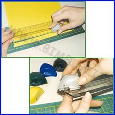 Righello cutter + base da taglio