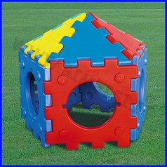 Cubic toy casetta five