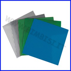 Base cm.25x25 per mattoncini midi - set 5 pezzi
