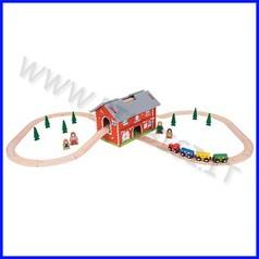 Treno-go - set circuito ferroviario la stazione fino ad esaurimento
